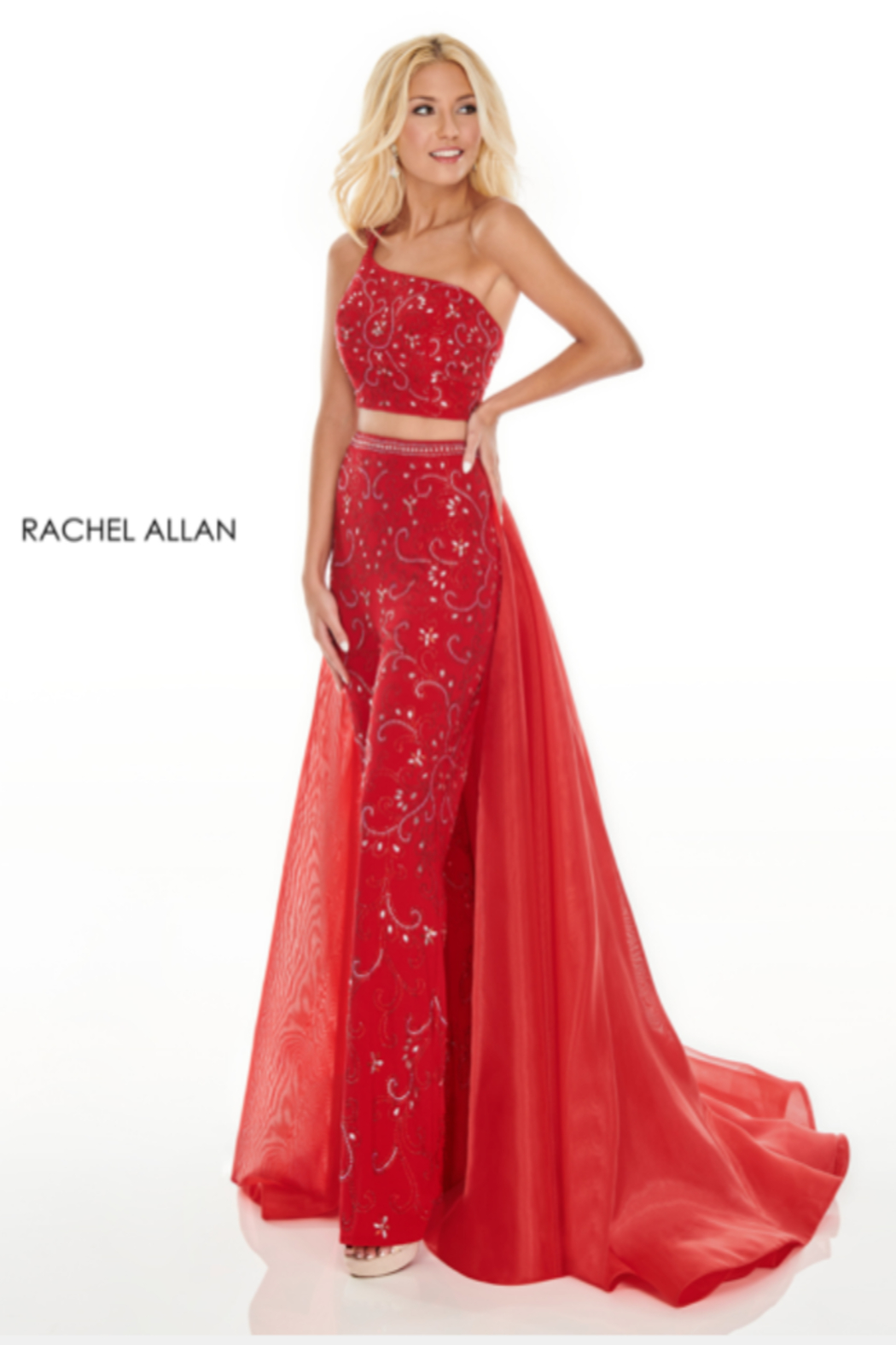 Rachel Allan 7204 - Long Gown - Main Image