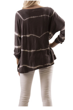 GiGiModa 72116 - tie dyed lightweight sweater - Product List Image
