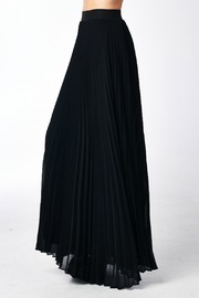 MHGS Black Pleated Skirt - Product Mini Image