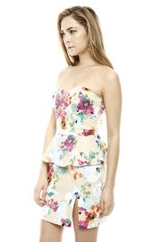 Ark & Co. Floral Peplum Dress - Side cropped