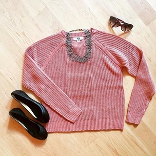 Shoptiques Product: Pink Jessie Sweater