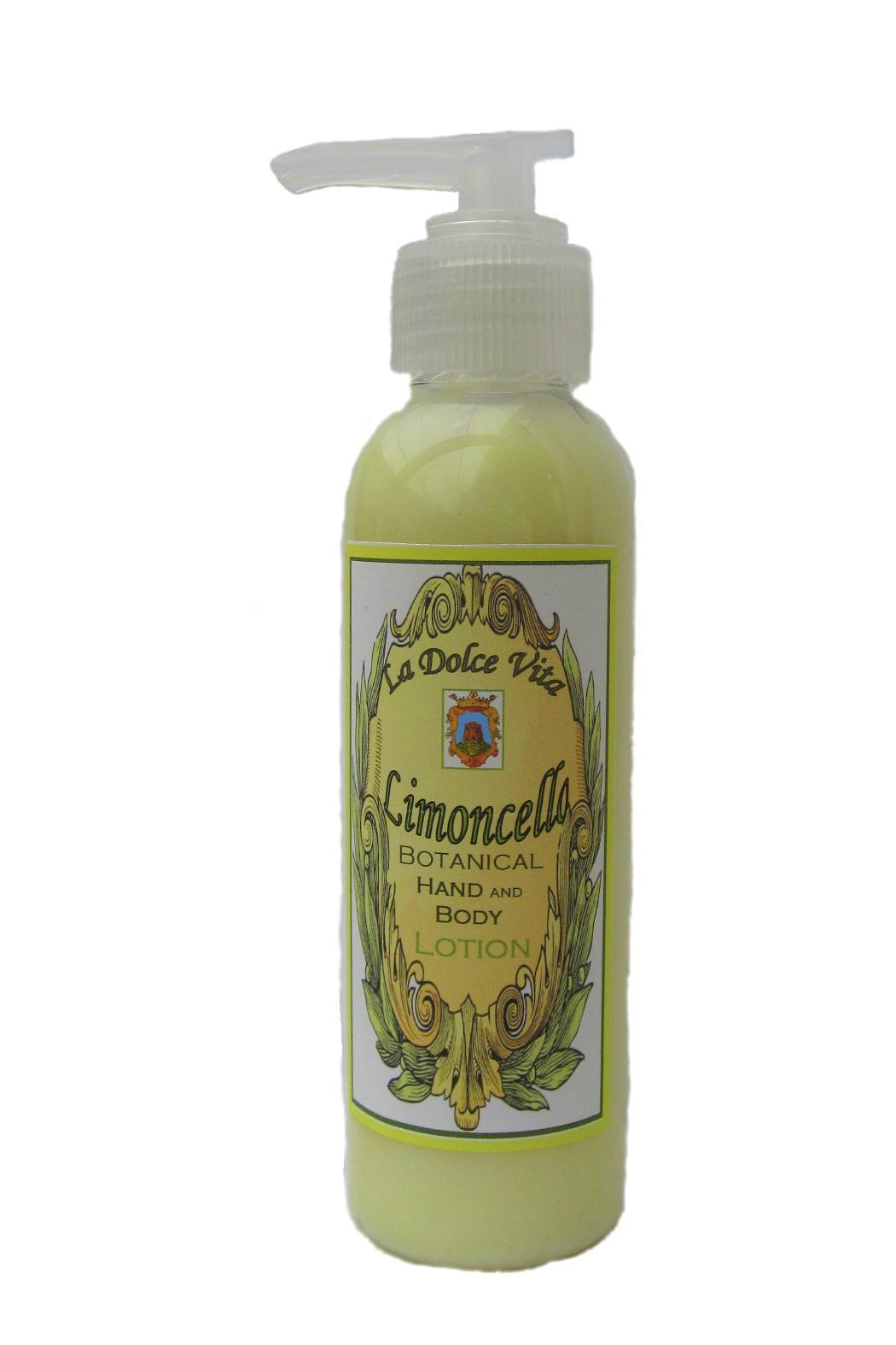 Limoncello Lotion  - Front Full Image