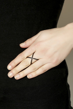 Shoptiques Product: Chris Cross Ring