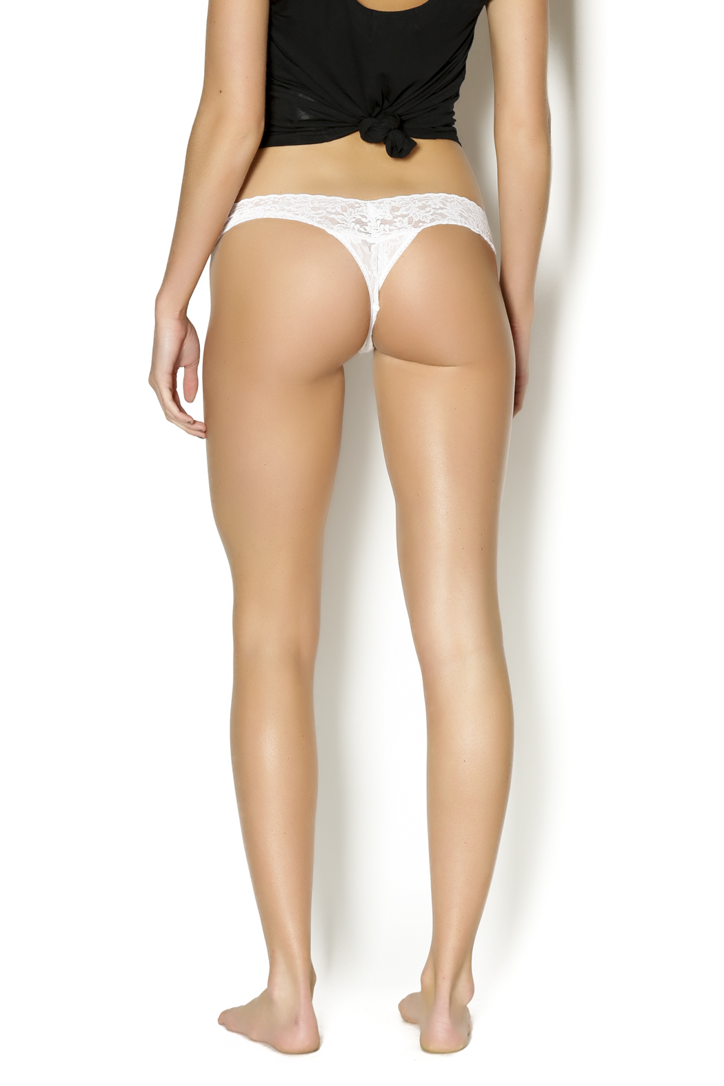 Hanky Panky Mrs. Low-Rise Thong - Back Cropped Image