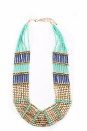 Lets Accessorize Stacked Beaded Necklace - Product Mini Image