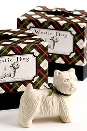 Westie Dog-Shaped Soap - Product Mini Image
