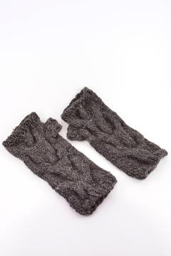 Local Artist  Alpaca Fingerless Gloves - Product List Image