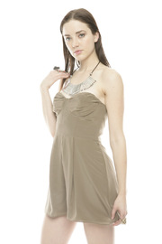 Shoptiques Product: Silk Underwire Playsuit - Side cropped
