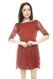 Shoptiques Product: Surplice Back Lace Dress