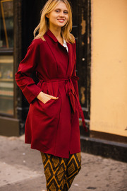 Shoptiques Product: Red cape Jacket