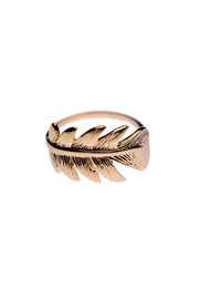 Monsieur Simone Feather Ring - Product Mini Image