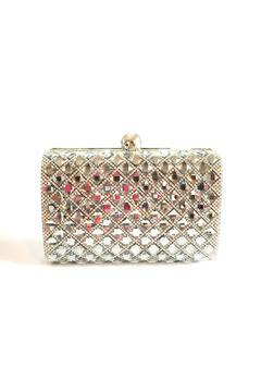 Bling Bling Sisters Black Diamond Clutch - Product List Image