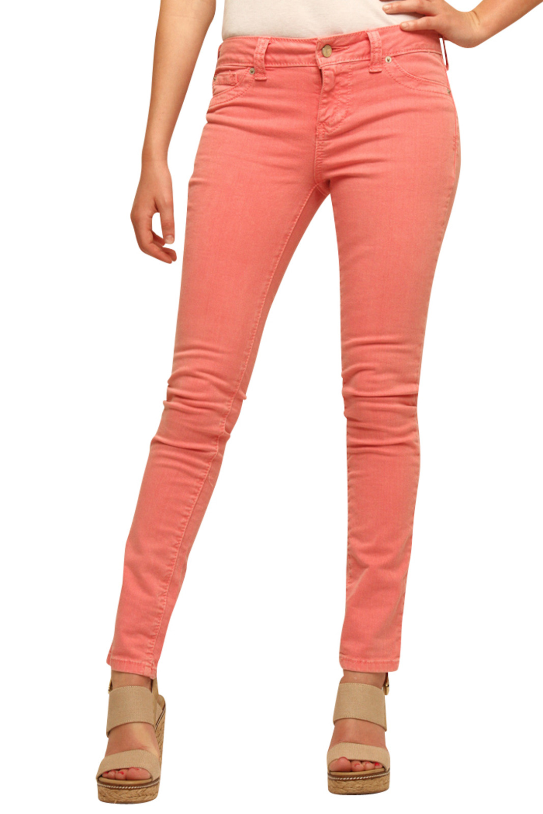 Standards & Practices Salmon Jeans from Miami by Prinzzesa ...