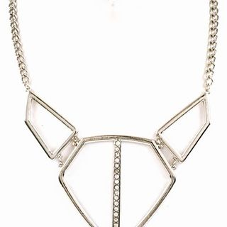 Shoptiques Silver Necklace Set