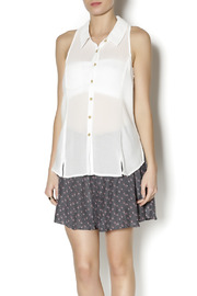 Free People Button Down Tank - Product Mini Image