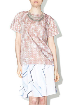 Library Taupe Parker Blouse - Product List Image