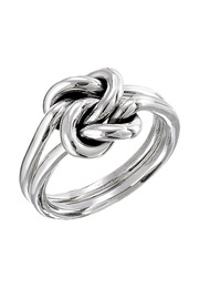Shoptiques Product: Silver Double Knot Ring