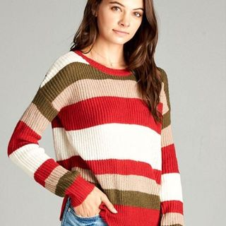 Shoptiques Striped Sweater