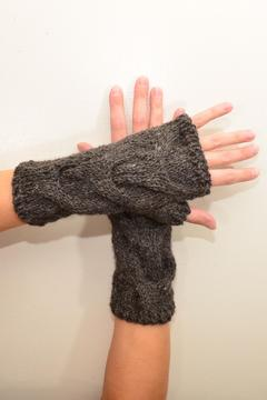 Local Artist  Alpaca Fingerless Gloves - Alternate List Image