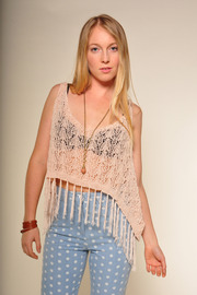 Shoptiques Product: Summer of Love Tank - Front cropped