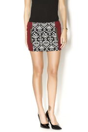 Chaser Tapestry Mini Skirt - Product Mini Image
