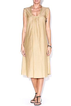 matta Khaki Puja Dress - Product List Image