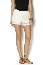 On Twelfth Ivory Crochet Shorts - Product Mini Image