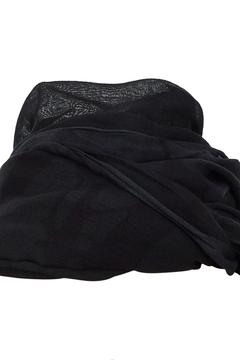 Shoptiques Product: Dark Green Scarf