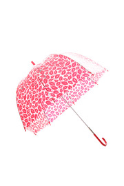 Fulton Red Lips Umbrella - Front cropped