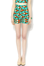 Royal Jelly Harlem Tic Tac Toe Cabana Shorts - Product Mini Image