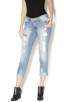 KanCan Destroyed Boyfriend Jeans - Product List Image