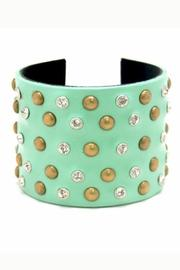 Made It! Leather Bling Cuffs - Front cropped