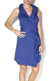 Missy Robertson Ruffled Wrap Dress - Product Mini Image