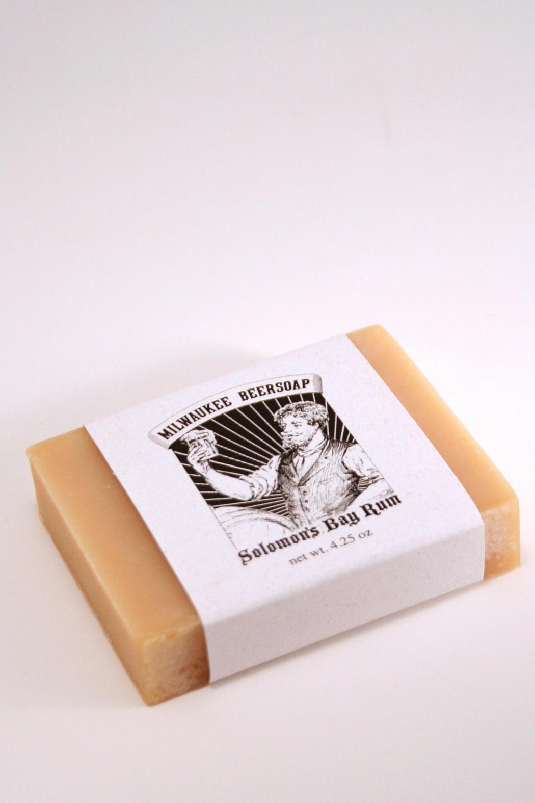 Milwaukee Beersoap  Soloman's Bayrum Soap - Main Image