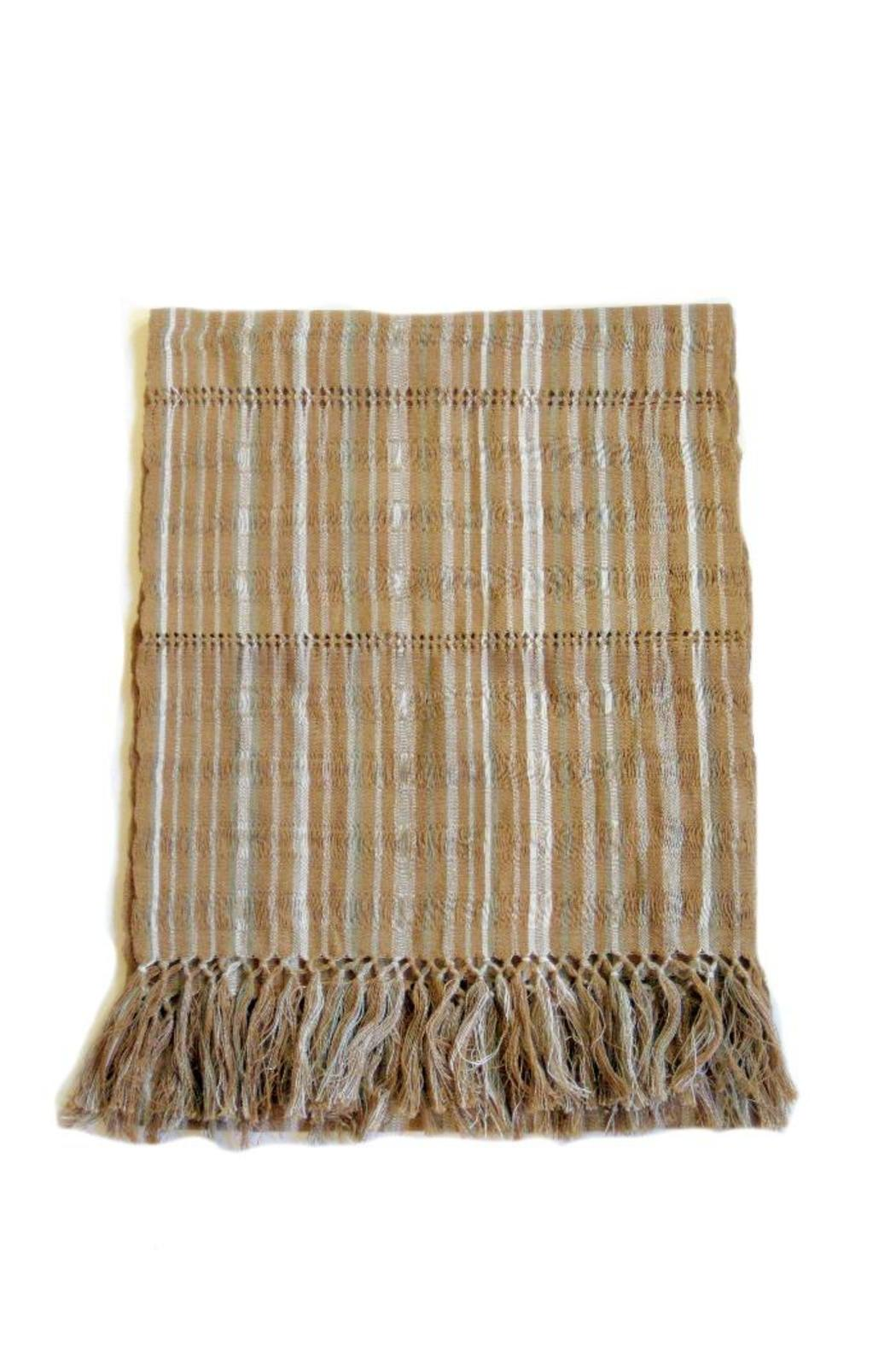 Diseño  Striped Patterned Scarves - Main Image