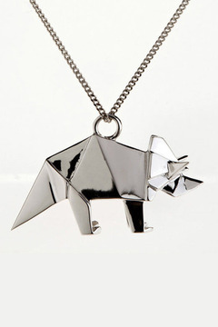 Origami Jewellery Triceratops Necklace - Product List Image