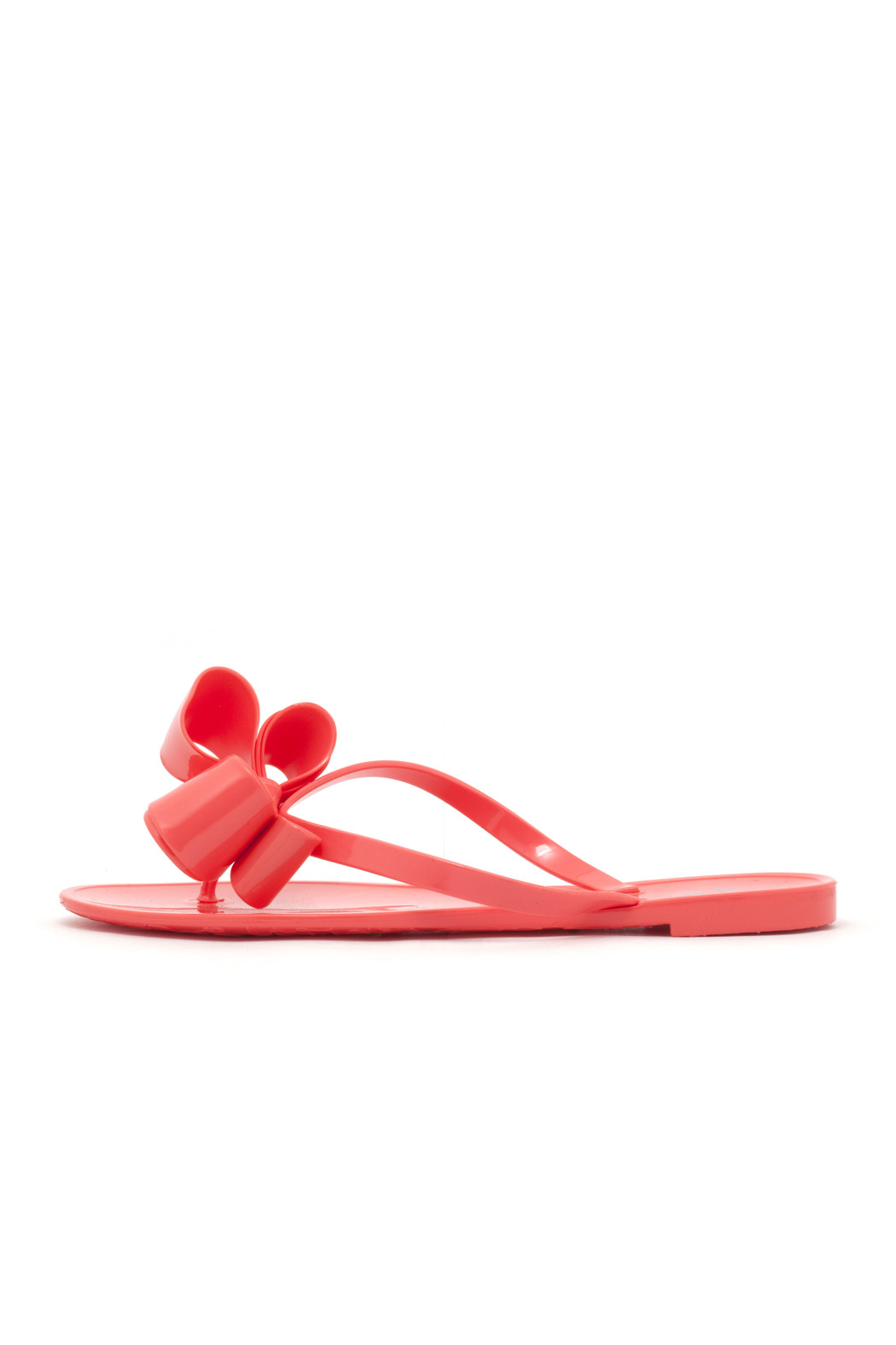 Dizzy Bow Flip Flop - Front Cropped Image