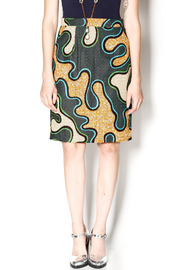 Royal Jelly Harlem Kamo Pencil Skirt - Product Mini Image