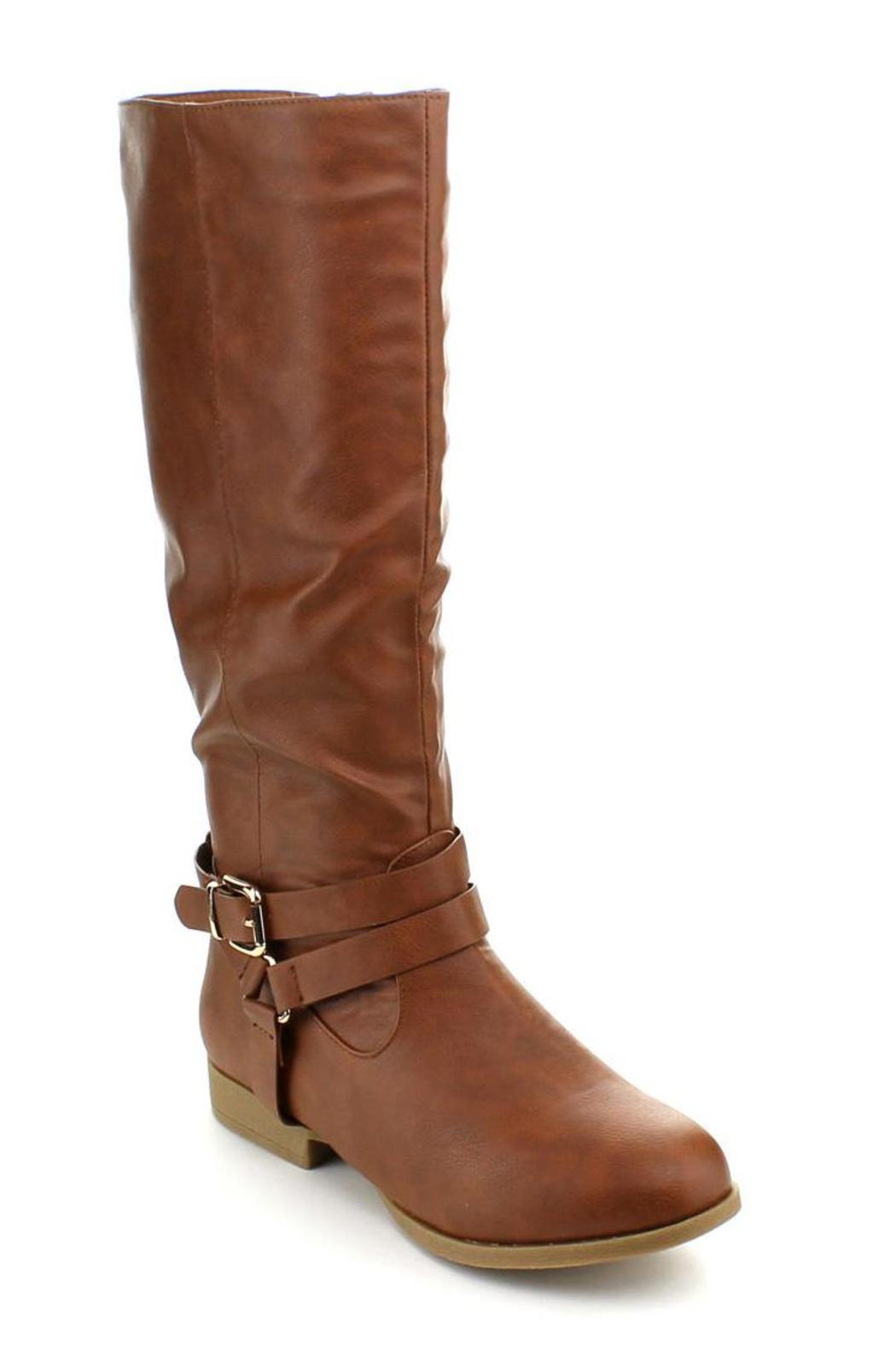 Top Moda Land Riding Boot - Front Cropped Image
