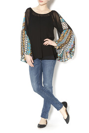 2Tee Couture Presley Retro Top - Front full body