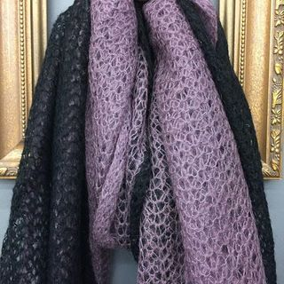 Shoptiques Product: Two Tone Scarf