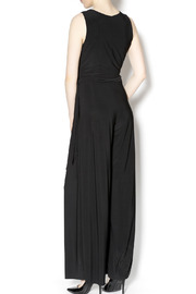 Last Tango Belted Black Jumpsuit - Back cropped