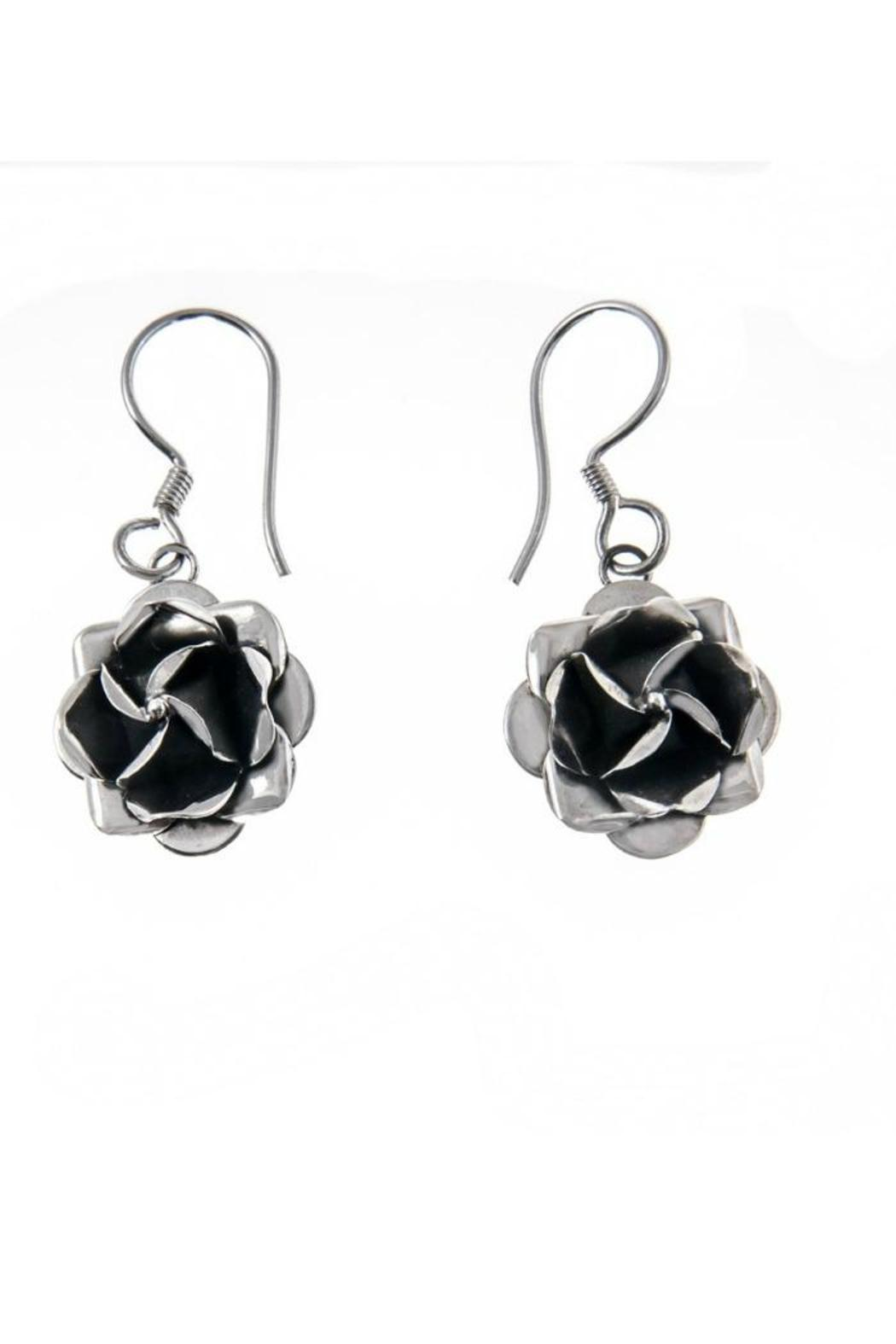 Diana Rose Earrings - Front Cropped Image