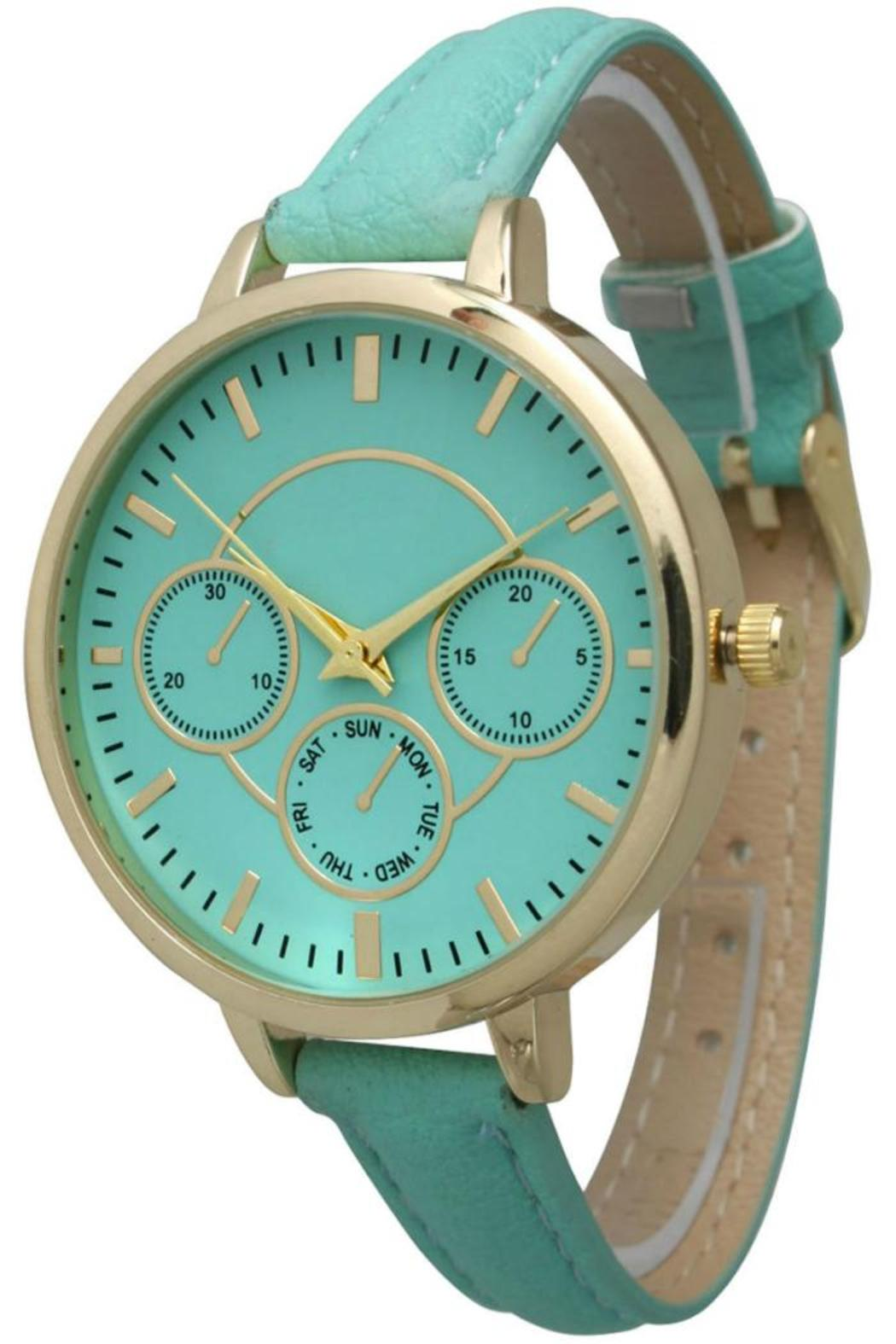 Olivia Pratt Skinny Band Watch - Front Cropped Image