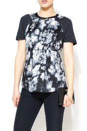 Rebecca Taylor Ghost Flower Top - Front cropped
