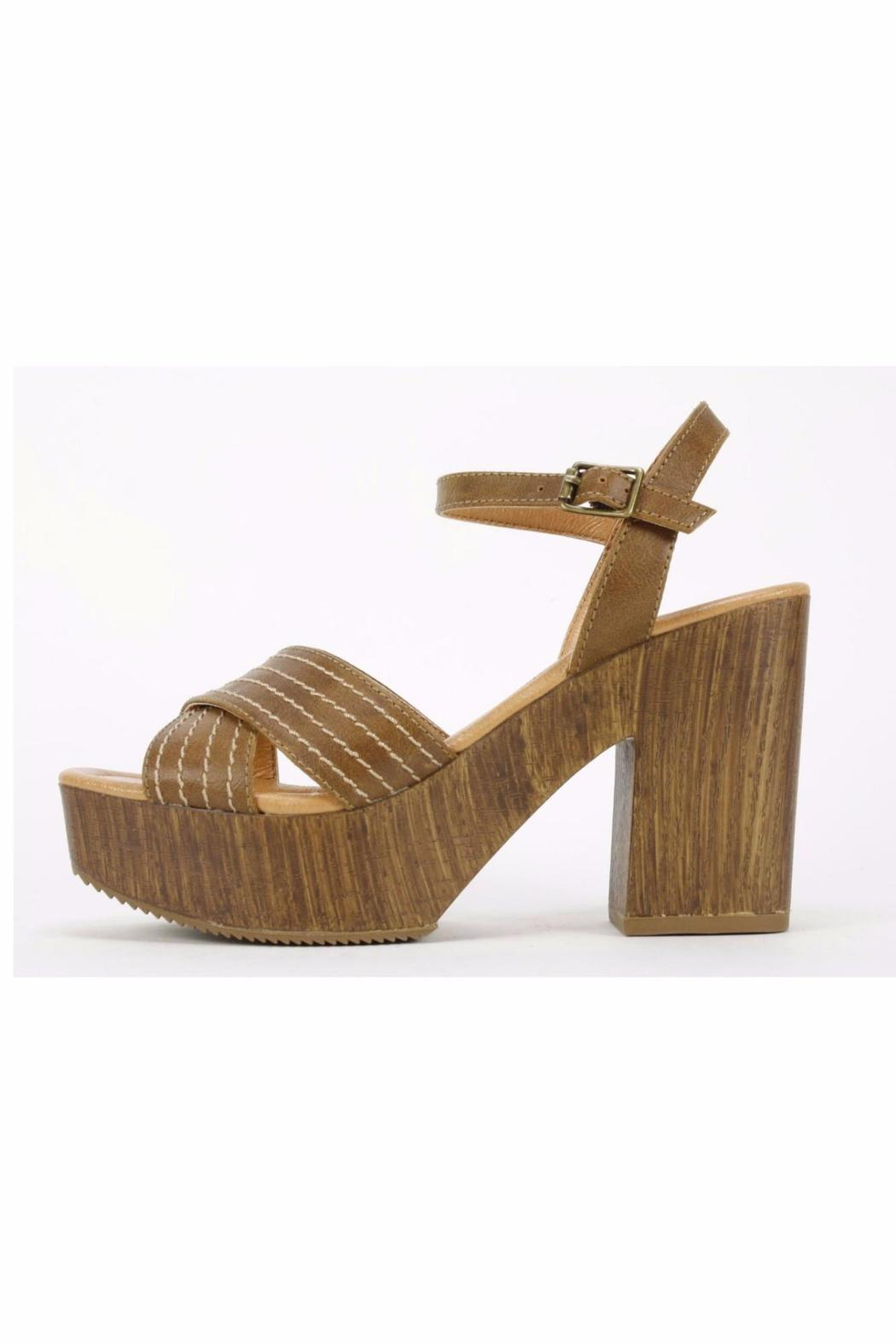 7 Dials Aaliyah Chunky Sandal - Front Cropped Image