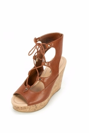 7 Dials Lace Up Heeled Sandal - Product Mini Image