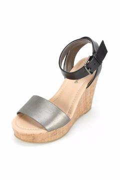 Shoptiques Product: Preview Pewter Wedge