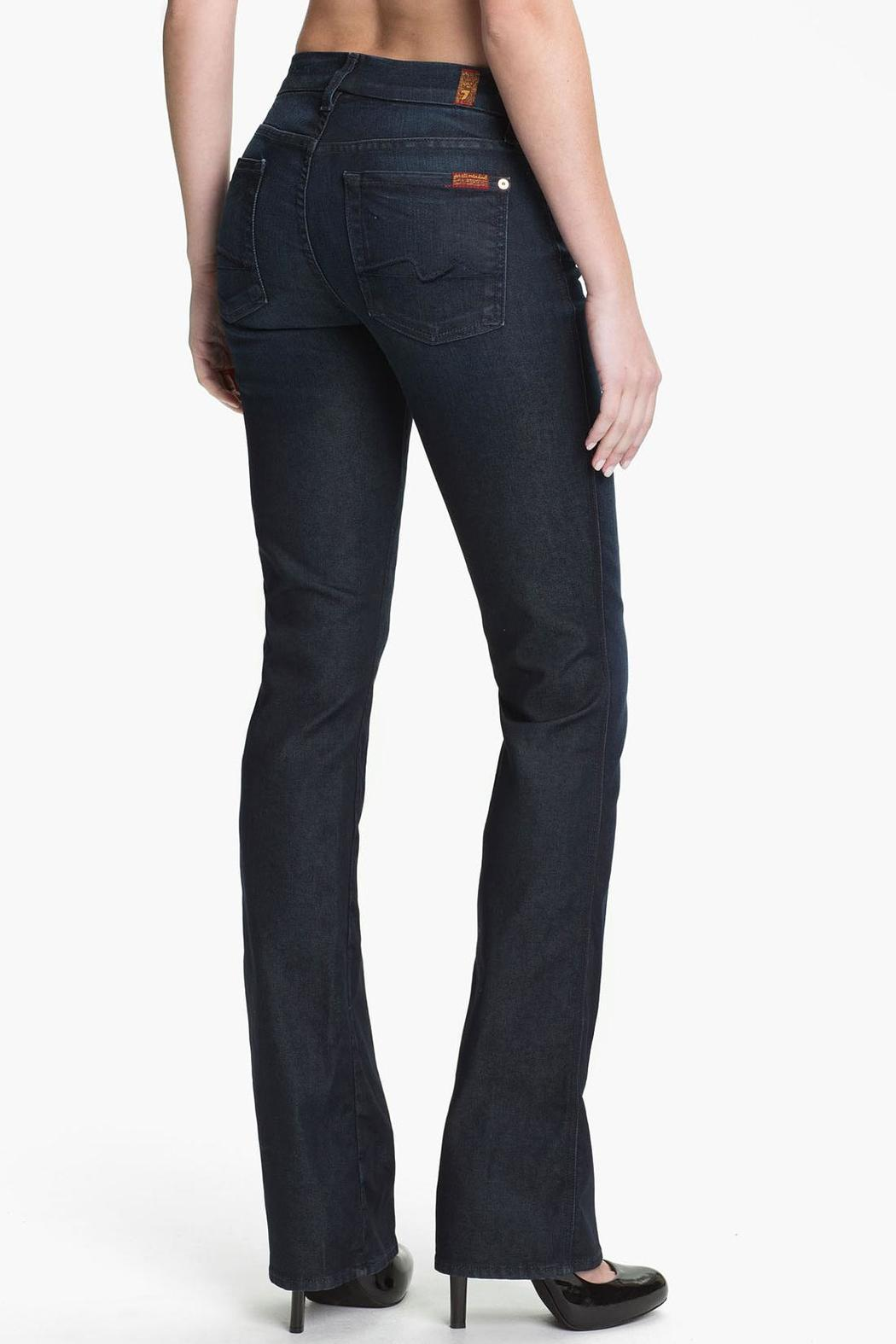 7 For all Mankind Kimmie Bootcut Night-Star - Front Full Image