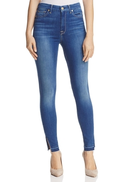 7 For all Mankind B(air) High-Rise Skinny - Product List Image